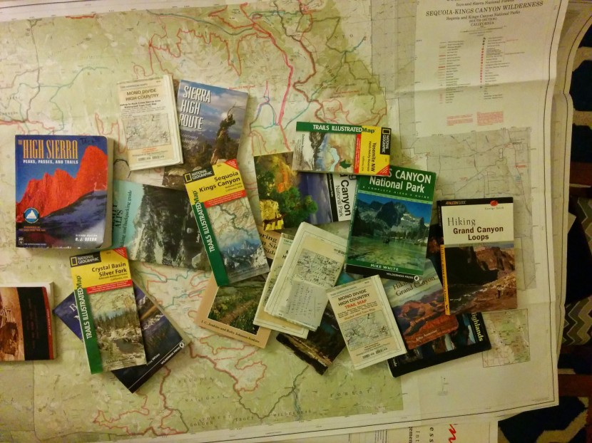 I've had a few marathon research sessions so far this year, planning the logistics of trips from now through October.