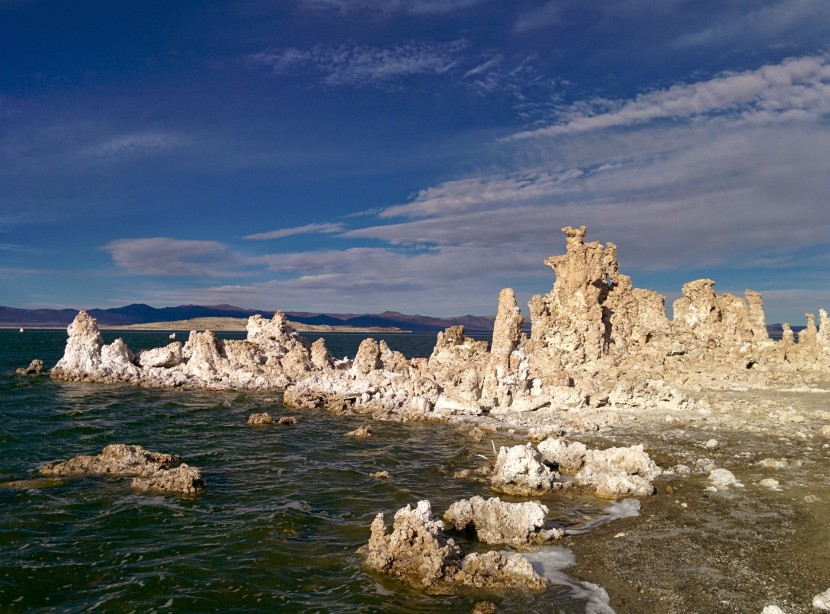 I hardly took pictures but I did take this one. Mono Lake, Calif.