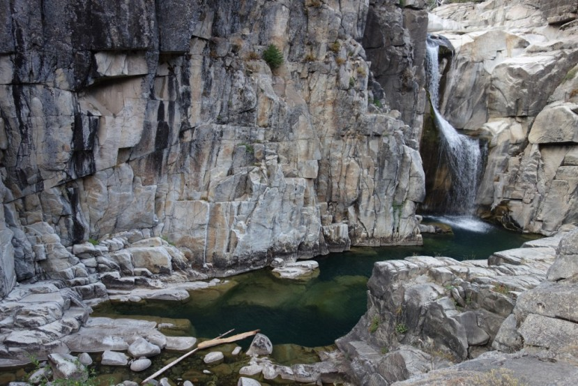 Palisade Falls on the North Fork of the American River.